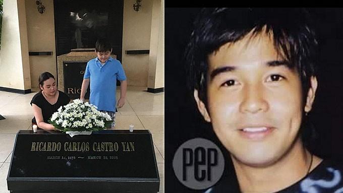 Claudine Barretto Visits Rico Yan S Grave On His Birthday
