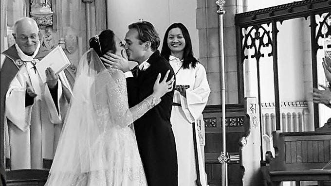 Georgina Wilson Marries British Fiance Arthur Burnand In London Pepph