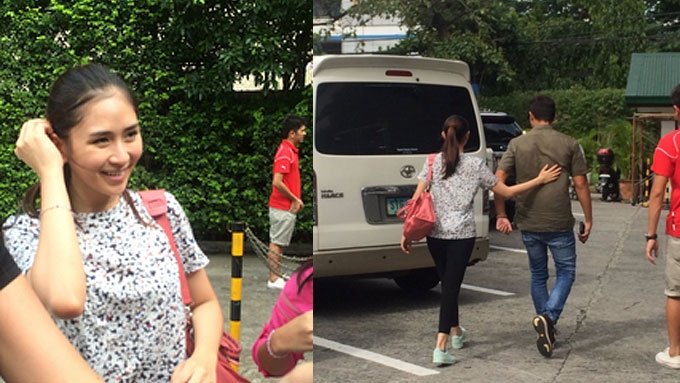 Sarah Geronimo Matteo Guidicelli Spotted On A Saturdate