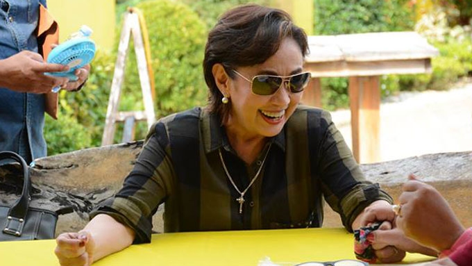 Vilma Santos wary about celebrity drug list