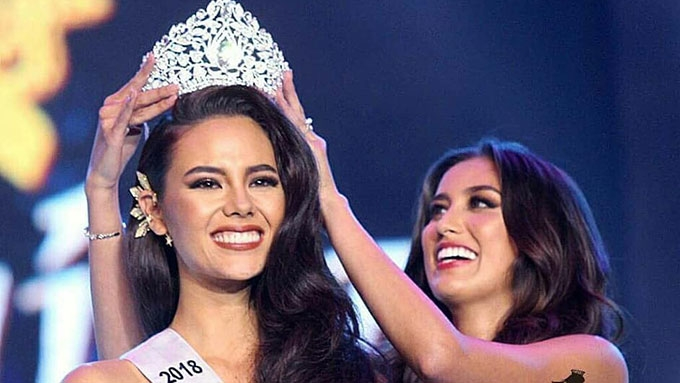 916bb4fe6e50 Catriona Gray is Miss Universe-Philippines 2018