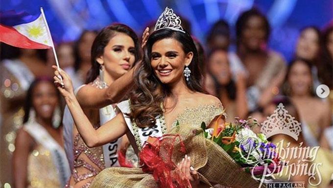 Last Night Was Multimedia Night For Us >> Karen Gallman is crowned Miss Intercontinental 2018 | PEP.ph