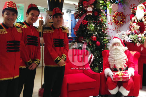 Longchamp beauty addict card santa claus and other christmas meet and greet santa at rustans makati on december 20 and rustans shangri la on december 21 m4hsunfo