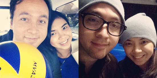 ENGAGED Lino Cayetano and Fille Cainglet