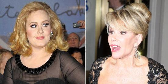 Joan Rivers On Adele She S Fat Pep Ph