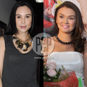 Gretchen Barretto (left) about Angelica Panganiban (right). Gretchen