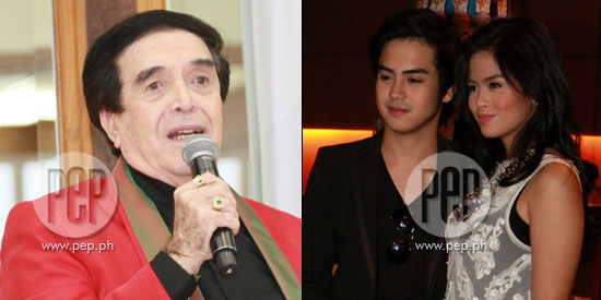 German Moreno denies live-in rumor about Jake Vargas and Bea Binene
