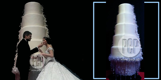 Dingdong Dantes Marian Rivera Wedding Cake Catches