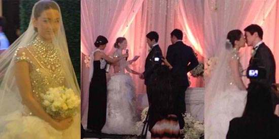 Richard Poon And Maricar Reyes Tie The Knot