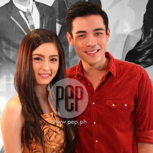 Kim Chiu serenaded by Xian Lim on the set of My Binondo Girl; but says