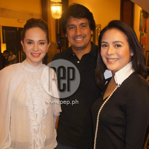 Richard Gomez Lucy Torres and Daughter