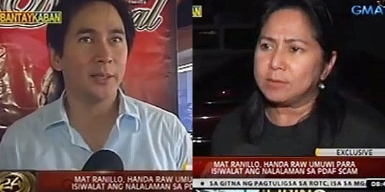 Suzette Ranillo Suzette Ranillo defends brother Mat Ranillo III News