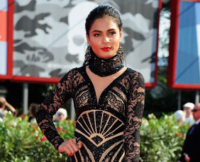 Lovi Poe's gown at Venice filmfest red carpet featured in Austrian