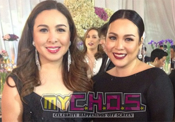 Claudine and Marjorie reunite at Julia's debut party