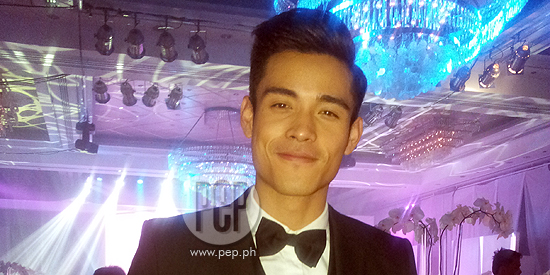 Xian Lim when asked if he's the next one to reveal his girlfriend