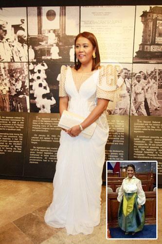 Senator Nancy Binay Unfazed By Bashers Of Her Sona Outfit