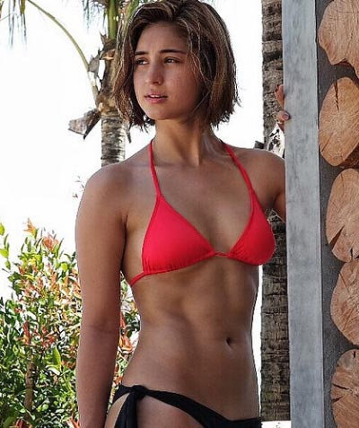 anne curtis marian rivera pose in swimsuits pep ph the