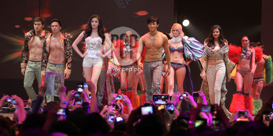 Bench Fashion Show 2012 can t get enough of celeb