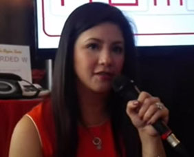 Regine Velasquez finds out what can ease pain from acid reflux