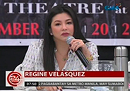 Regine Velasquez says conflict of schedule is real reason why she was