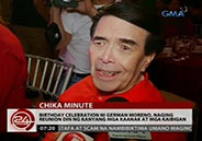 German Moreno's birthday celebration becomes reunion of Sampaguita Pic