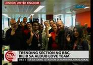 "AlDub gets the attention of BBC's ""Trending"" section"