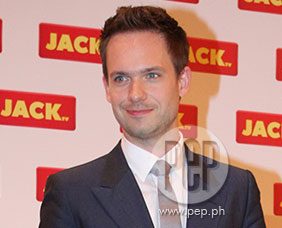Suits actor Patrick J. Adams meets Manila following