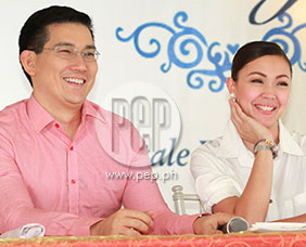 Richard Yap and Jodi Sta. Maria excited about wedding of Ser Chief and