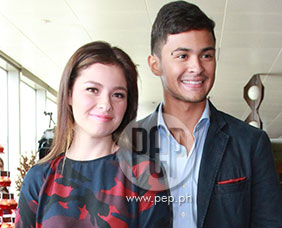 Andi Eigenmann and Matteo Guidicelli excited over