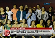 Wowowin opening number, a first in Philippine TV says top choreographe