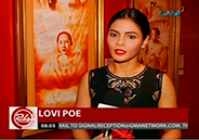 "Lovi Poe to play Gregoria de Jesus in historical movie ""Lakam"
