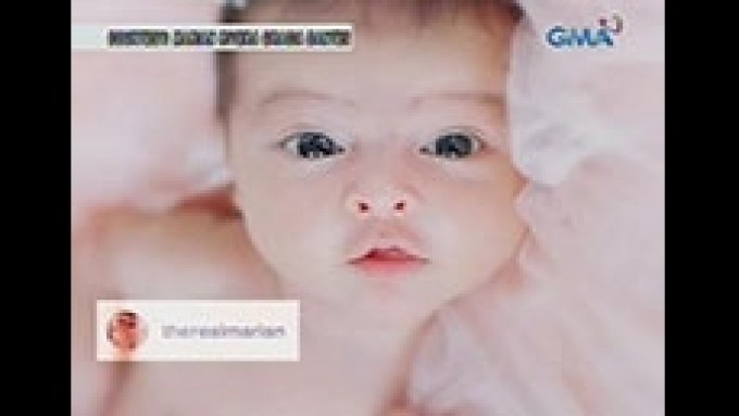 Marian and Dingdong post latest pics of Baby Letitzia