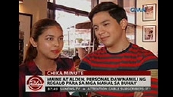 Maine and Alden buy gifts for loved ones