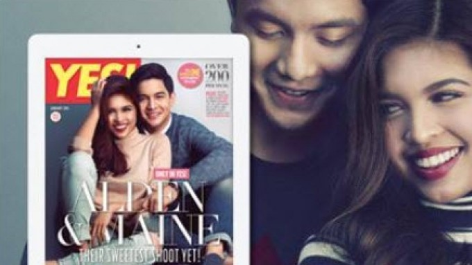 AlDub<em> YES!</em> cover BTS