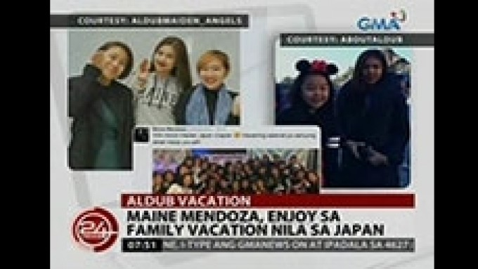 AlDub still have time for fans even on vacation mode