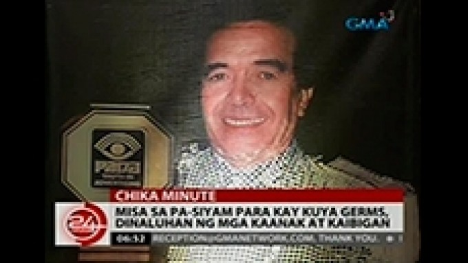 Special mass offered for Kuya Germs