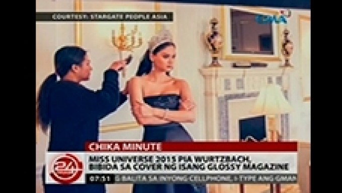 Pia Wurtzbach shoots first mag cover