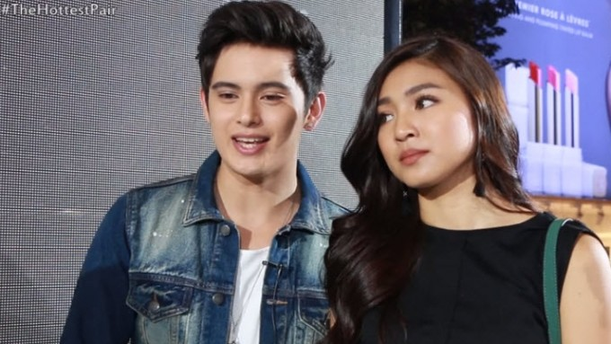 James Reid likes leather, Nadine Lustre likes it caged