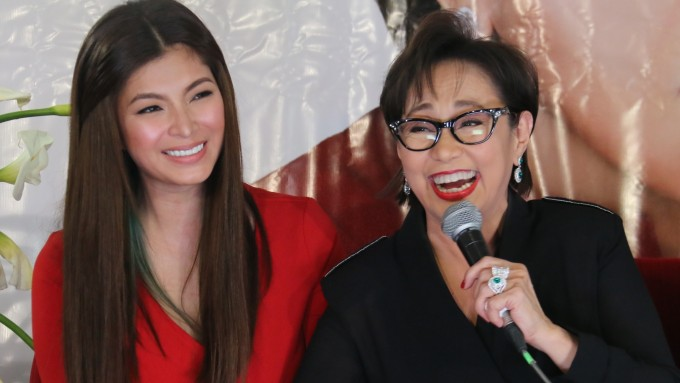 Angel Locsin all praises for Vilma Santos
