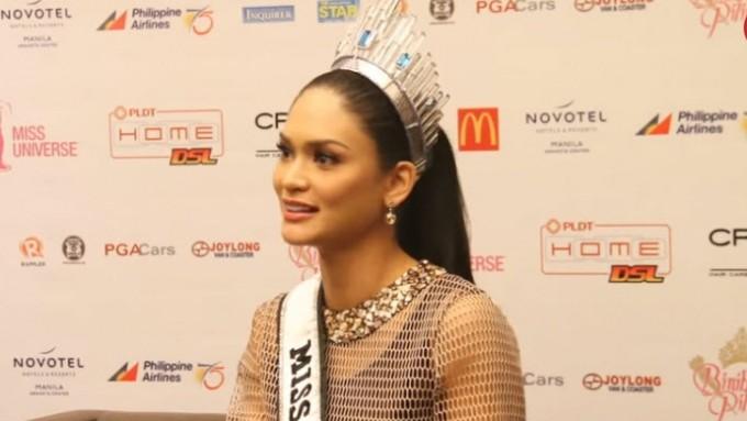 Pia Wurtzbach hope Philippines will host next Miss U