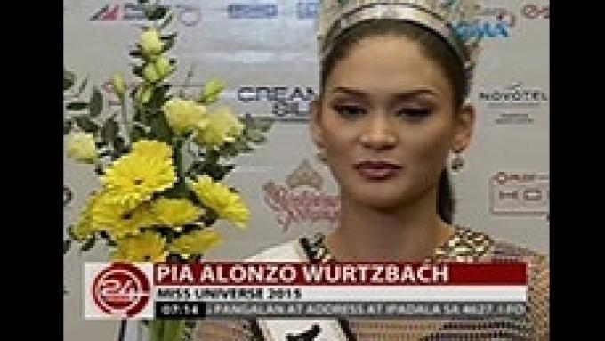 Pia Wurtzbach has message for Vic Sotto