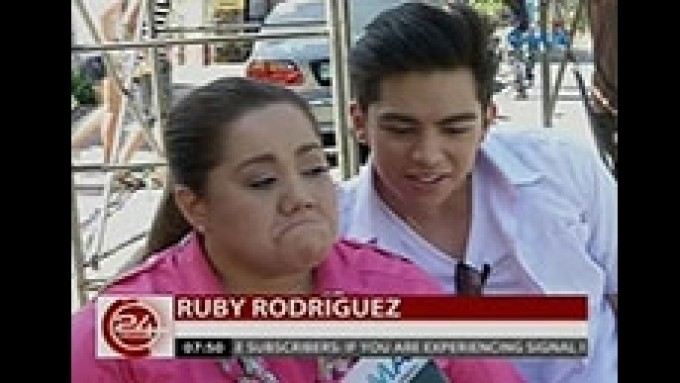 Ruby Rodriguez shows what makes her cry
