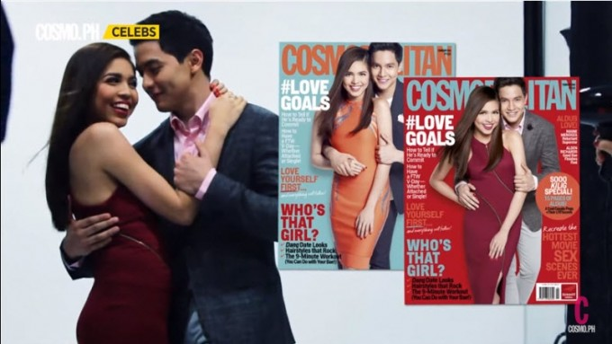 AlDub on the cover of Cosmo PH