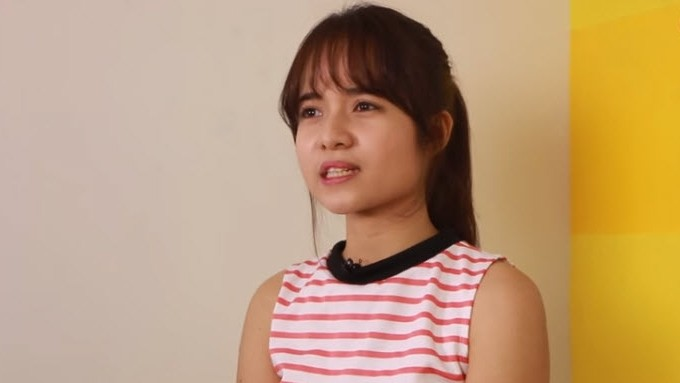 Kristel Fulgar says singing while driving is stress reliever