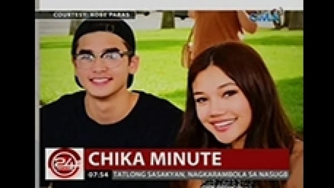 Kobe Paras promotes song of singer-girlfriend