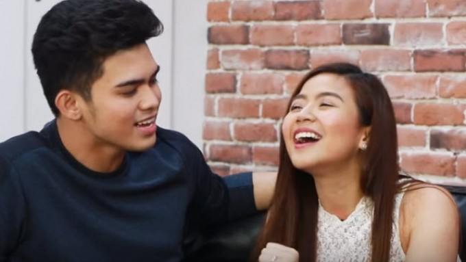 Miles Ocampo shows her singing talent
