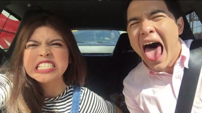 AlDub's first-ever road trip video