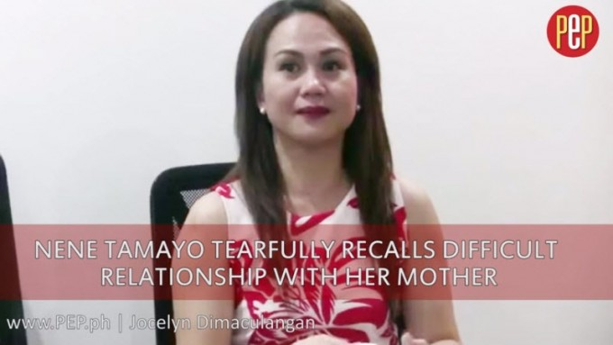 Nene Tamayo cries over difficult relationship with mom