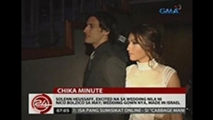 Solenn Heussaff excited to get married