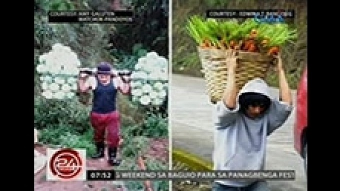 After Carrot Man Jeyrick Sigmaton, there's Cabbage Man